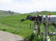 Mailboxes on Chilano Valley Road, Marin County image