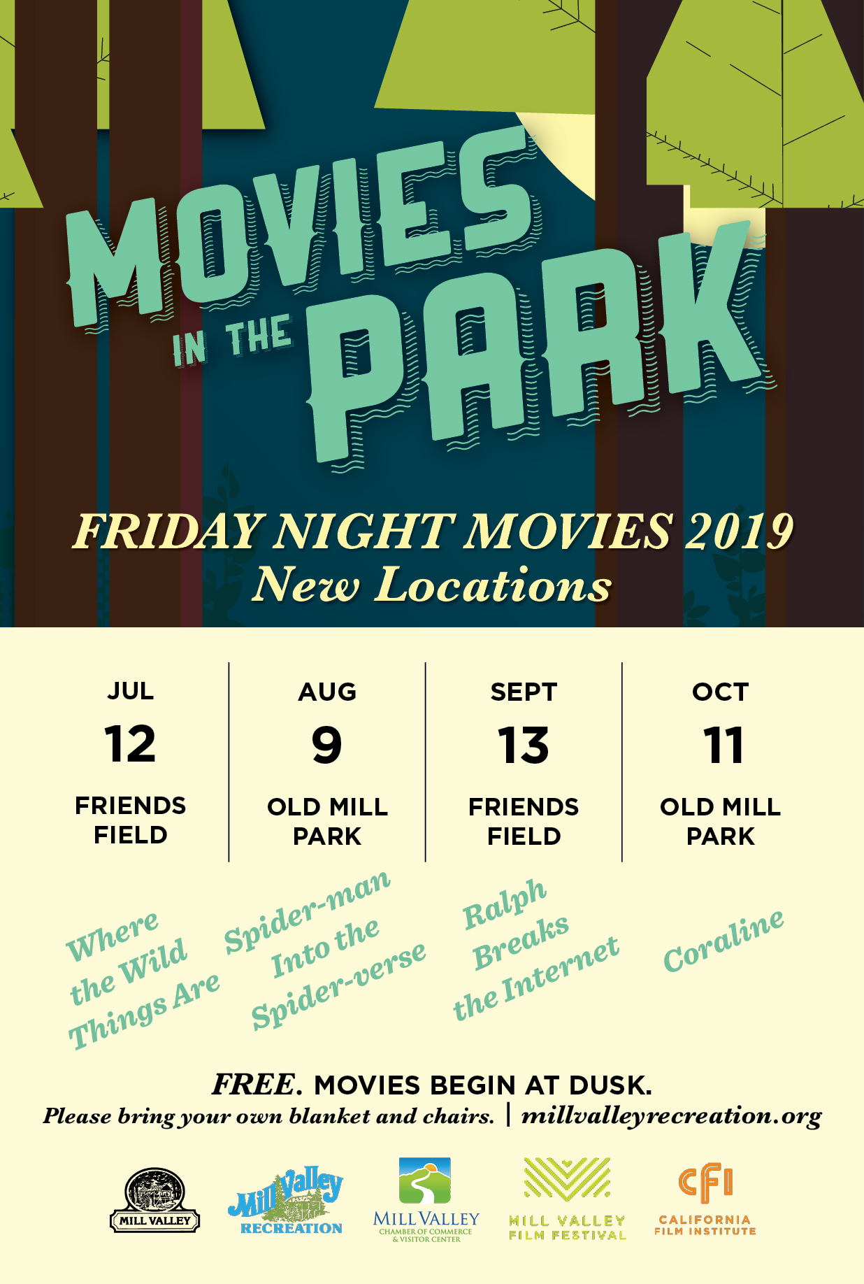 Movies in the Park: Where the Wild Things Are at Friends