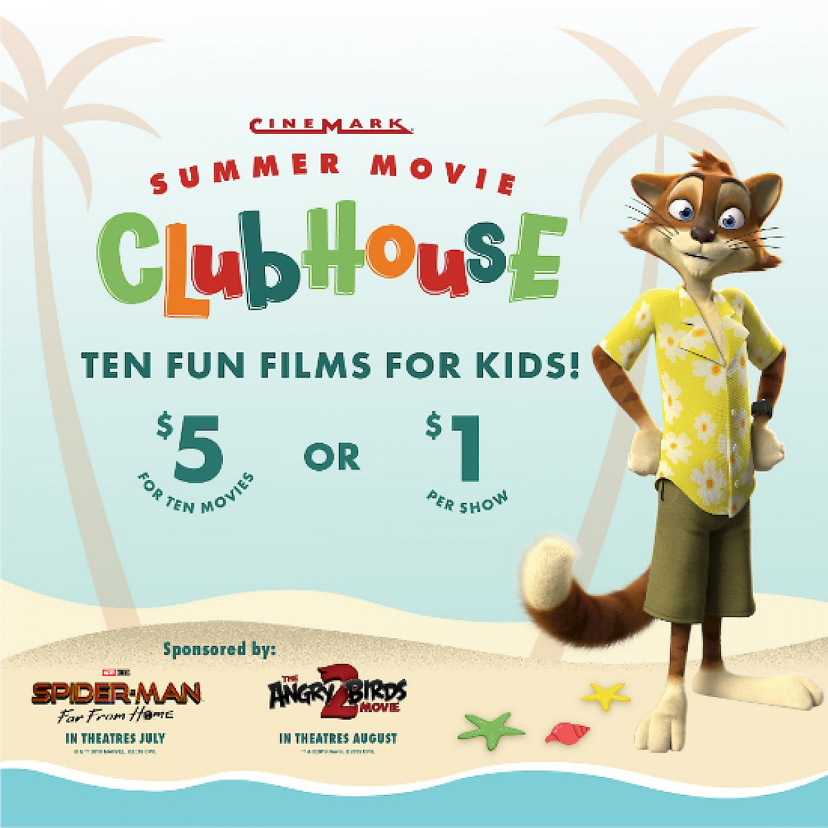 Summer Movie Club House at Northgate Mall's Cinemark (Every