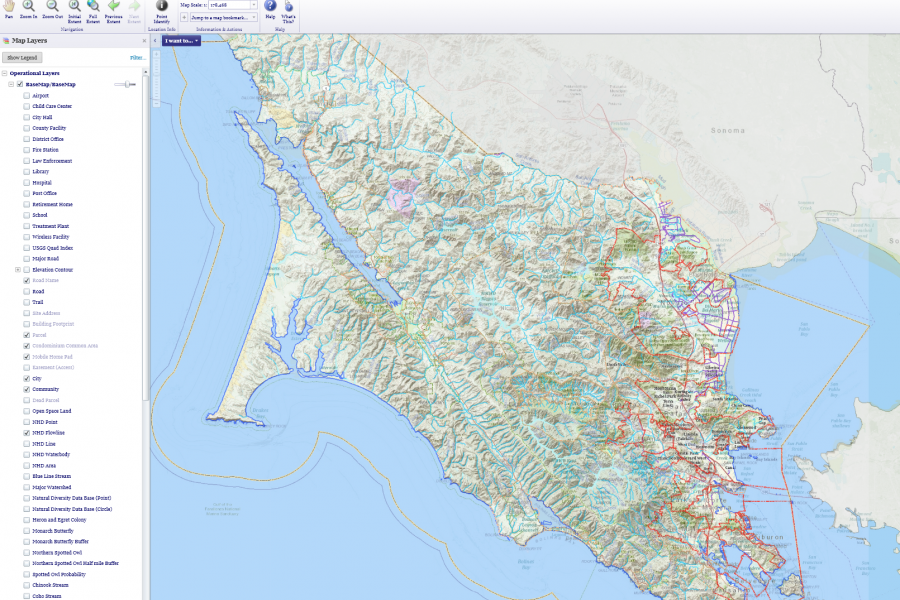 GIS Community Base Map GIS Map Information