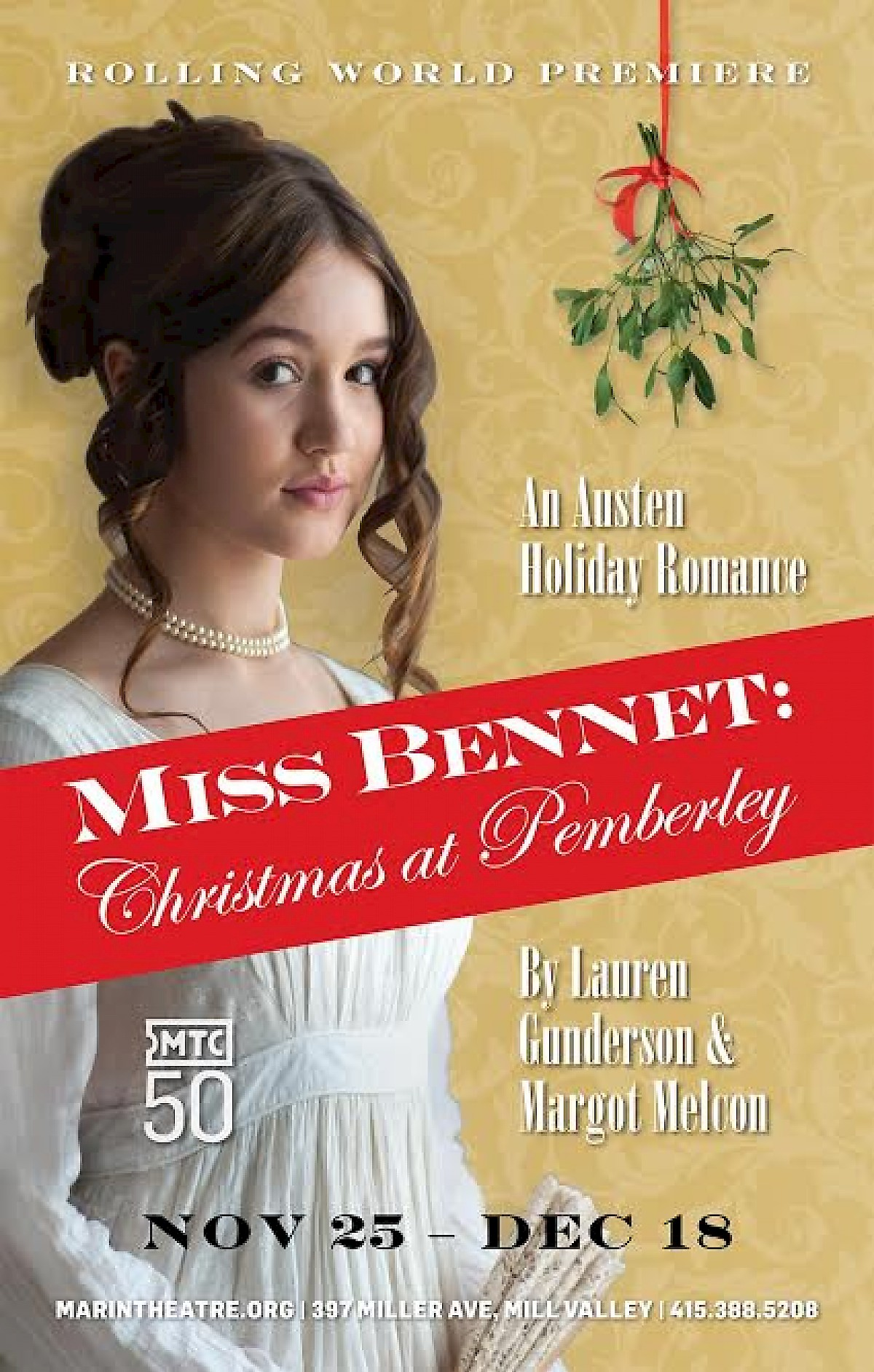 Marin Theatre Company Presents Miss Bennet Christmas At