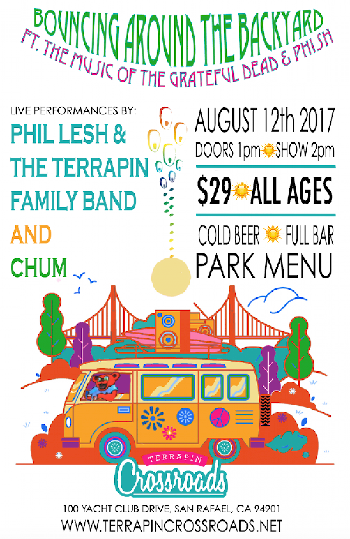 terrapin crossroads bouncing around the backyard august 2017